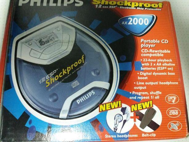 leitor cds philips ax 2000 novo