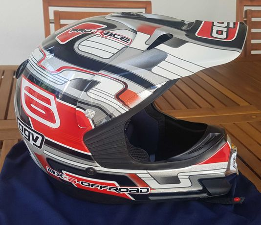 Capacete AGV ax-6 offroad