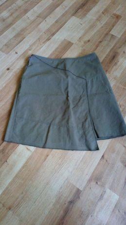 Spodnica mini khaki roz 34 Tatum