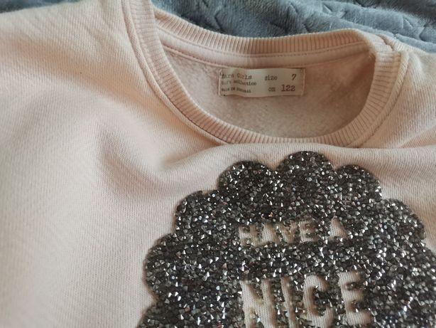 Bluza Zara 122 jak nowa