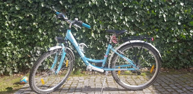 Sprzedam młodzieżowy rower damski Eurobike w b.dobrym stanie