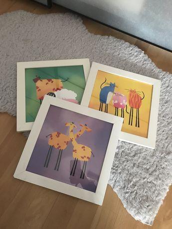 Obrazki dziecięce Ikea