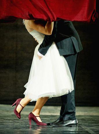 suknia ślubna, krótka, retro, lata 60, r.38