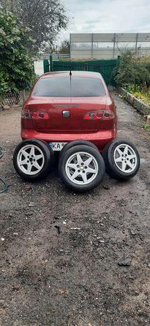 Диски с резиной 5/100 Seat, Skoda,Volkswagen I