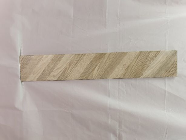 Wood Chevron right( prawy) beż 15x 90 cm GRES SZKLIWIONY