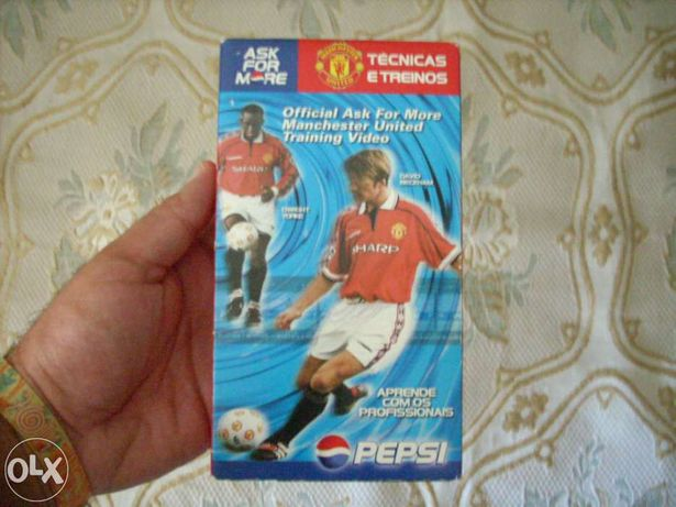 David Beckham k7 de treinos de futebol com ele, em embalagem selada