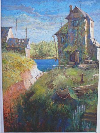 Пустыльник (Одесса Николаев). 1998г 107*75 см Андеграунд Нонконформизм