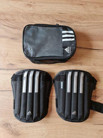 Ochraniacze na piszczele na nogi piłkarskie Adidas