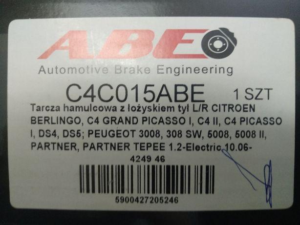 Диск тормозной ABE C4C015ABE-2шт.