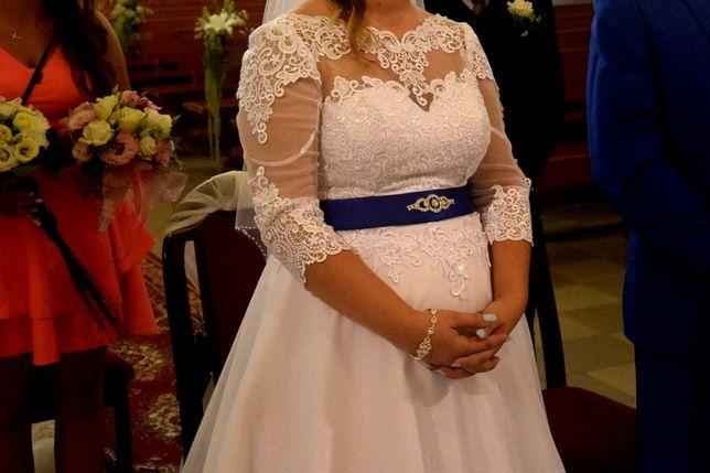 Suknia ślubna również dla Panny młodej z brzuszkiem