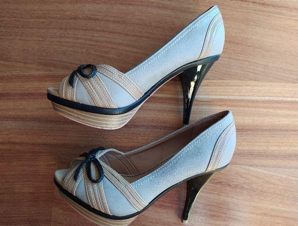 Sapatos tacão alto (bege) SUITEBLANCO