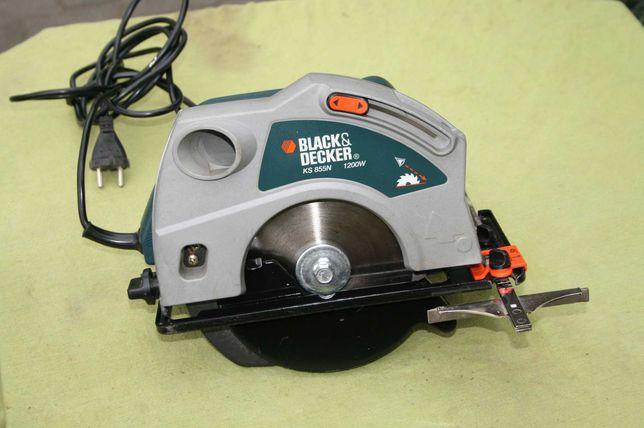 Pilarka tarczowa black & decker ks855n 1200 W