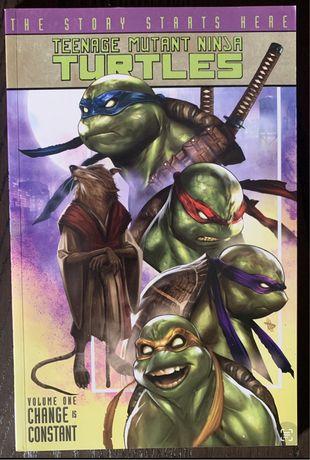 Graphic Novel - Teenage Mutant Ninja Turtles - Change is constant (Vol