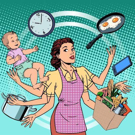 Doméstica e babysitter