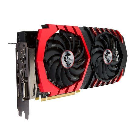 Видеокарта MSI Radeon RX 480  8 GB 256 BIT DDDR5