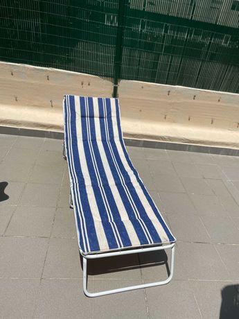 cadeira de jardim ou piscina desdobravel