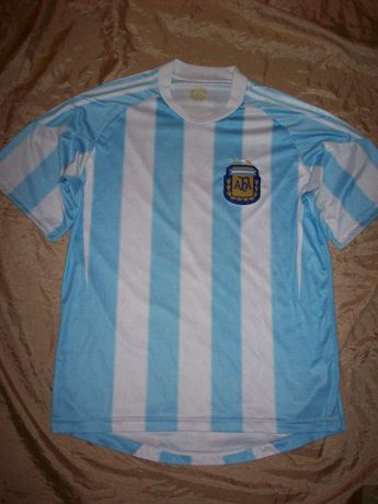 Фан коллекция футбол Аргентина Месси футболка сборной