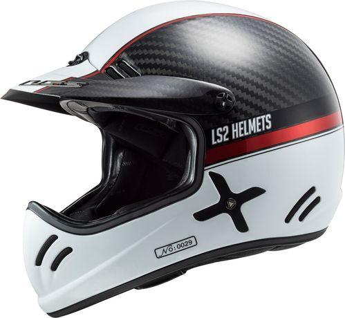 НОВЫЙ мото шлем LS2 Xtra Carbon Yard ,L размер из США Гарантия 5 лет