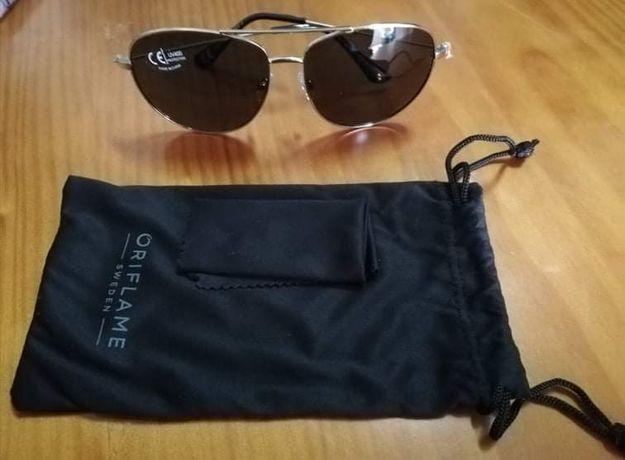 Óculos de sol tipo aviador