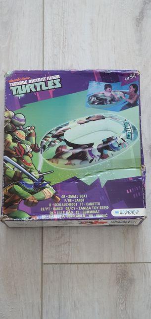 Nowy ponton turtles dla dziecka. Woda, śnieg
