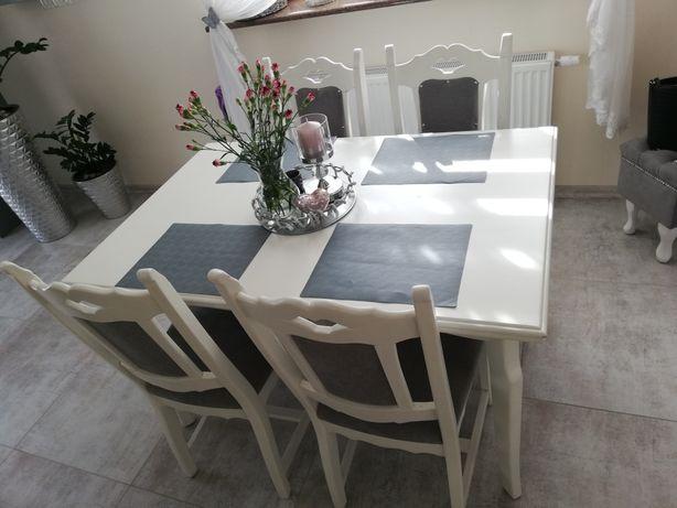 Stół drewniany 5 krzeseł