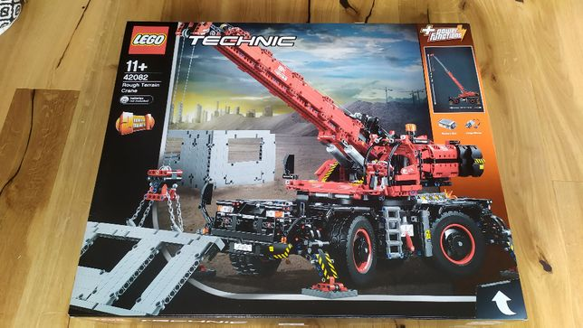 Klocki LEGO Technic Dźwig 42082