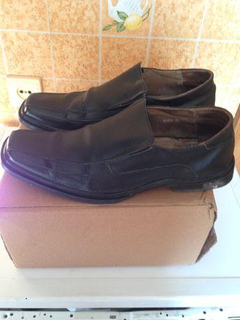 Туфли мужские кожаные черные BDDS бу