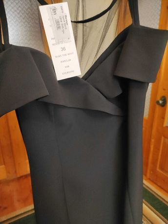 Плаття чорне 36 S розмір