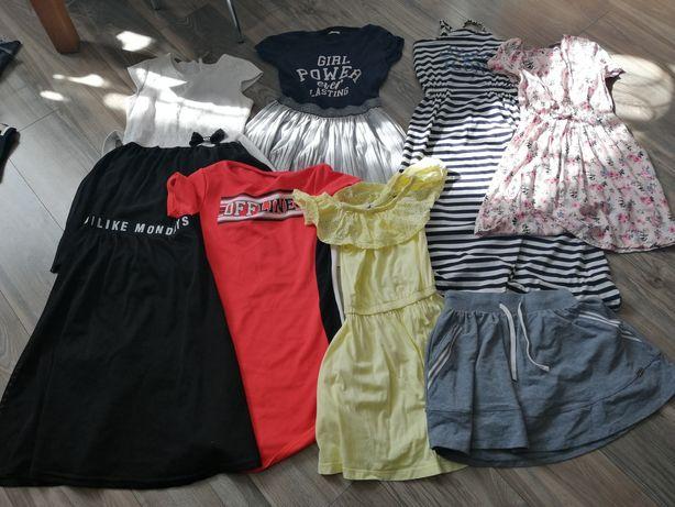 Paka ubrań 140-146