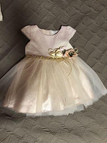 Платье нарядное размер 74