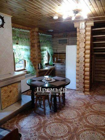 В продаже дом из сруба на побережье Черного моря.