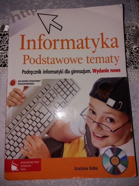 Informatyka podstawowe tematy + CD. Koba