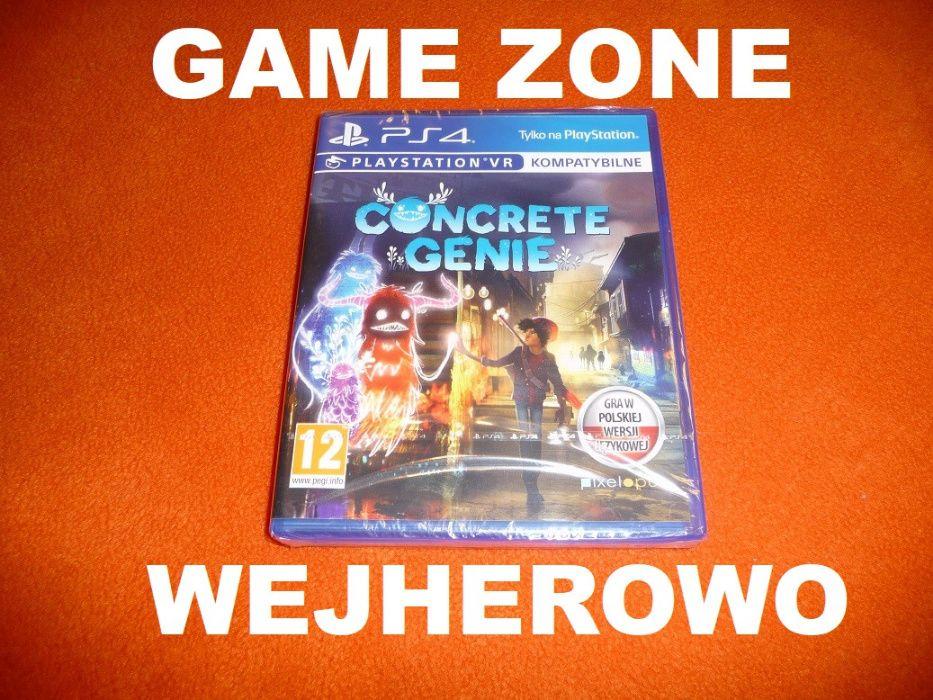 Concrete Genie PS4 + Slim + Pro = PŁYTA PL VR Wejherowo Wejherowo - image 1