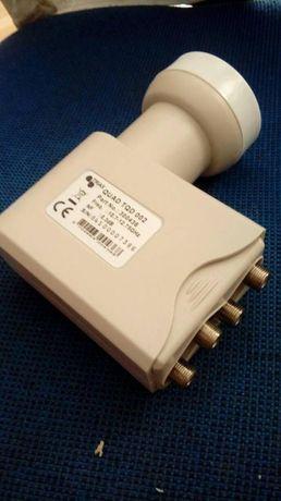 Konwerter quad Opticum Red Montaż anten SAT i DVB-T
