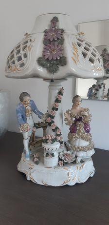 Okazja Lampka porcelanowa
