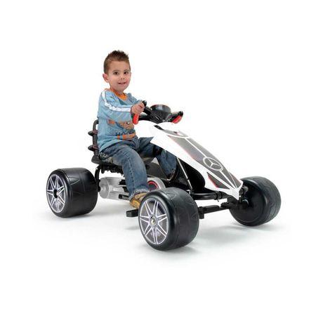 Auto Samochód GOKART na pedały INJUSA MERCEDES zabawki sportowe