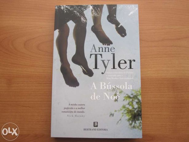 "Livro Novo ""A Bússola de Noé"" de Anne Tyler"