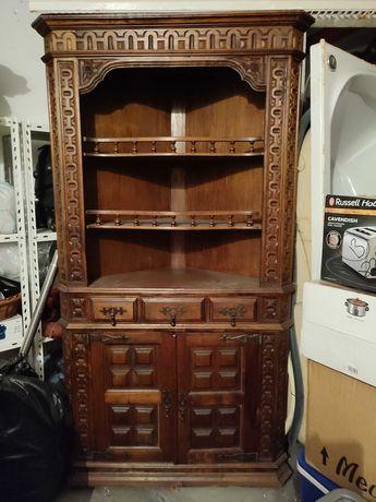 Móvel antigo madeira canto