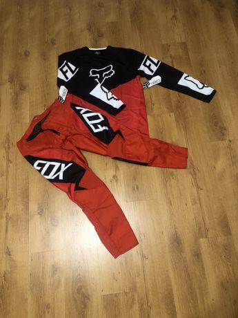 Strój fox 180 XL/36 czerwony cross enduro quad rower