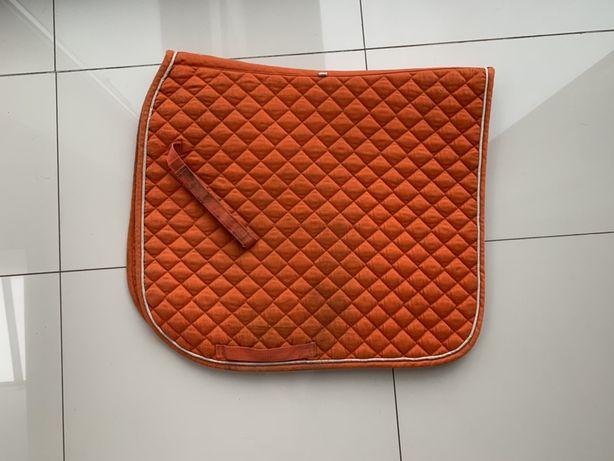 Czaprak DL ujezdzeniowy fair play amber pomarańczowy rozmiar full