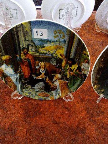 Pratos de coleção Natal da Vista Alegre 1983(nº13)