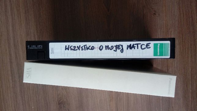 "Film ""Wszystko o mojej matce"" kaseta VHS"