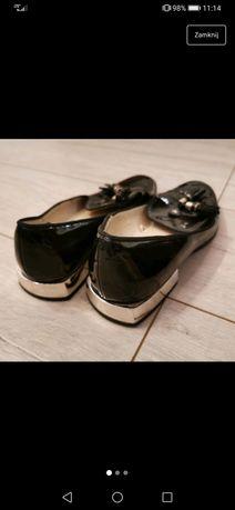 Zara buty mokasyny lato