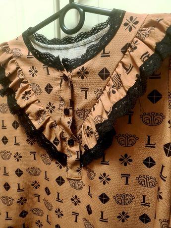 Koszula, bluzka LV piękna, nowa 134