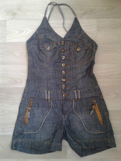 Комбинезон джинсовый BONNY р.44. Рост 160 - 164 см.