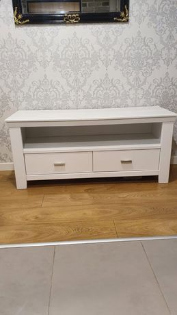 komoda szafka stolik RTV szafka glamour prowansalski biała