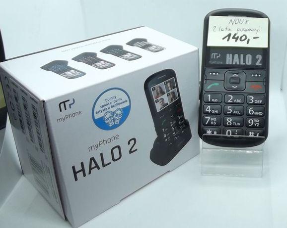 telefon dla seniora duże cyfry wyraźny Halo 2 myPhone nowy