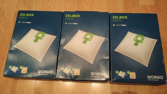 Worki Zelmer ZMBO1K - 3 opakowania