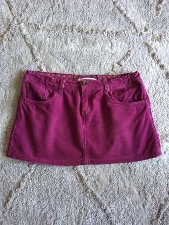 Fioletowa spódniczka jeansowa Reserved (164cm)