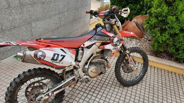 Honda crf 450x  ACEITO TROCAS